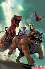 Lockjaw and the Pet Avengers Vol 1 2 Textless