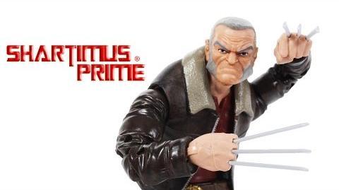 Marvel Legends Old Man Logan Wolverine X-Men Warlock BAF Wave Action Figure Toy Review
