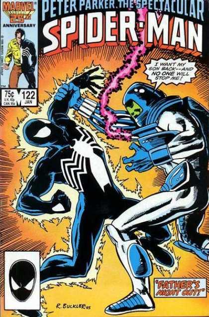 Peter Parker, The Spectacular Spider-Man Vol 1 122