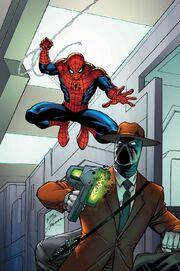 Spider-Man Master Plan Vol 1 1 Lim Variant Textless