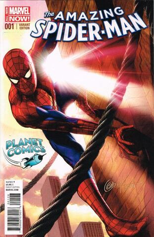 File:Amazing Spider-Man Vol 3 1 Planet Comics Variant.jpg