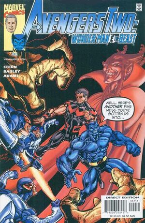Avengers Two Wonder Man & Beast Vol 1 2