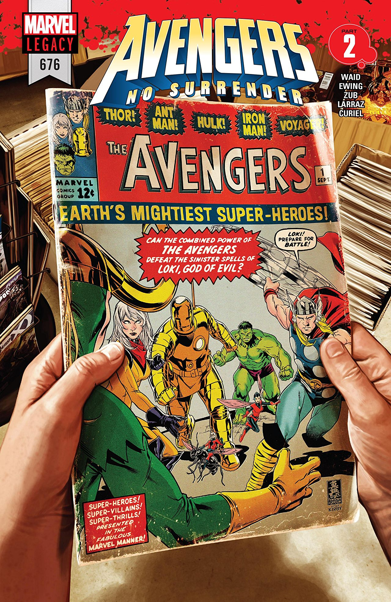 AVENGERS #675 VARIANT 3RD PRINTING 1ST APPEARANCE OF VOYAGER NO SURRENDER PART 1