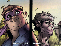 Batwing and Butterball's Team (Earth-616) from Avengers The Initiative Vol 1 35 0001