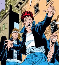 Blazing Skull Gang (Earth-616) from Amazing Spider-Man Vol 1 263 001