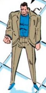 Burke (Earth-616) from X-Force Vol 1 10