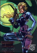 Carol Danvers (Earth-9602) from Amalgam Comics (Trading Cards) 0001