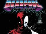 Deadpool: Back in Black Vol 1 1