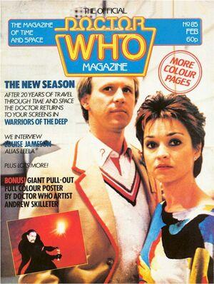 Doctor Who Magazine Vol 1 85