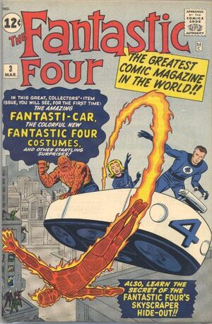 Fantastic Four Vol 1 3 Vintage