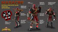 Marvel Contest of Champions Masacre Official Cosplayer Guide
