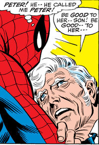 Peter Parker (Earth-616) and George Stacy (Earth-616) from Amazing Spider-Man Vol 1 90 0002