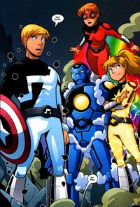 Power Pack (Earth-68326) Avengers and Power Pack Assemble! Vol 1 3
