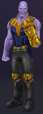 Thanos (Earth-TRN461) from Spider-Man Unlimited (video game) 004