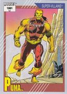 Thomas Fireheart (Earth-616) from Marvel Universe Cards Series II 0001