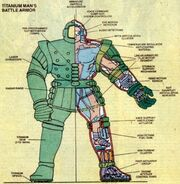 Titanium Man Armor (Bullski's) from Official Handbook of the Marvel Universe Vol 2 13 0001