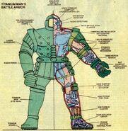 Titanium Man Armor (Bullski's) from Official Handbook of the Marvel Universe Vol 2 13 0001