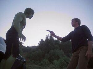 David Banner (Earth-400005) from The Incredible Hulk (TV series) Season 4 4 001