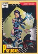 Elizabeth Braddock (Earth-616) from Marvel Universe Cards Series II 0001