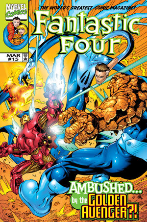 Fantastic Four Vol 3 15