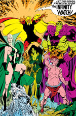 Infinity Watch (Earth-616) from Warlock and the Infinity Watch Vol 1 2 001