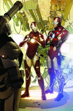 Invincible Iron Man Vol 2 29 Textless