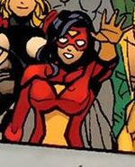 Jessica Drew (Earth-538) from Dark Reign Fantastic Four Vol 1 3 0001