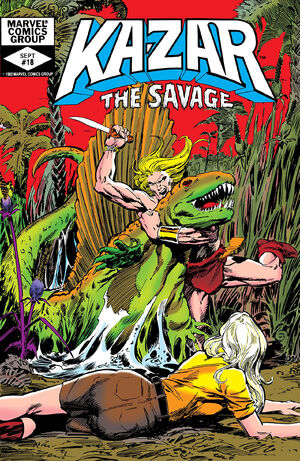 Ka-Zar the Savage Vol 1 18