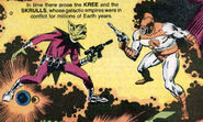 Kree-Skrull War from Marvel Saga the Official History of the Marvel Universe Vol 1 1 001