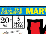 Kull the Conqueror Vol 1 5