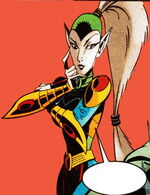 Lady Vermin (Counter-Earth) (Earth-TRN583) from Spider-Man Unlimited Vol 2 1 0001