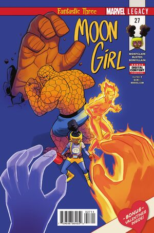 Moon Girl and Devil Dinosaur Vol 1 27