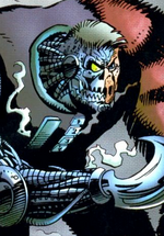 Multi-Fractor (Earth-928) from Punisher 2099 Vol 1 29 0001