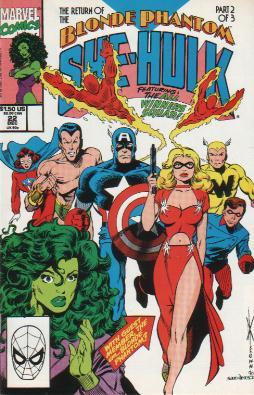 Sensational She-Hulk Vol 1 22