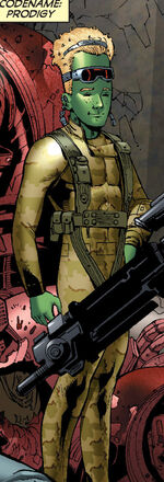 Timothy Wilkerson (Earth-616) from World War Hulk Gamma Corps Vol 1 1 0001