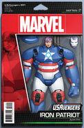 U.S.Avengers Vol 1 1 Action Figure Variant