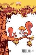 Unbeatable Squirrel Girl Vol 1 1 Baby Variant
