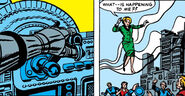 Alicia Masters, Doctor Doom's Armor, Grappler Ray, Victor von Doom (Earth-616) from Fantastic Four Vol 1 17