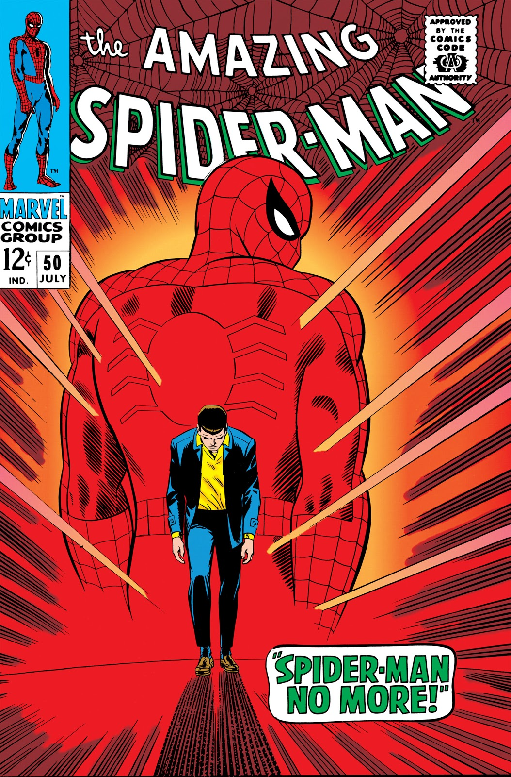 Image result for sPIDER-MAN ISSUE 50