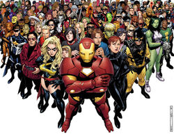 Avengers The Initiative Vol 1 1 Textless Joined