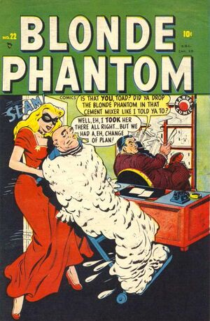 Blonde Phantom Comics Vol 1 22