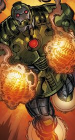 Boris Bullski (Earth-12311) from Armor Wars Vol 1 ½ 001