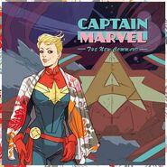 Captain Marvel Vol 9 1 Hip-Hop Variant Textless
