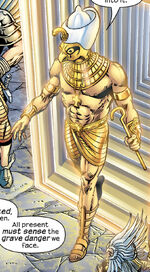 Horus (Deity) (Earth-4321) from Marvel Universe The End Vol 1 2 0001
