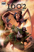 Marvel 1602 Fantastick Four Vol 1 5
