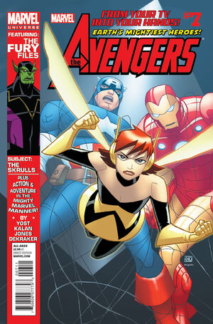 Marvel Universe Avengers - Earth's Mightiest Heroes Vol 1 7