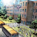 Midtown High School from Spider-Man Season One Vol 1 1