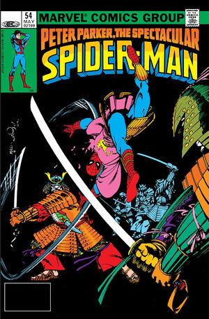 Peter Parker, The Spectacular Spider-Man Vol 1 54
