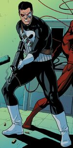 Punisher (Arcade Android) (Earth-616) from Ghost-Spider Annual Vol 1 1 001