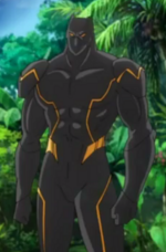 T'Challa (Earth-14042) from Marvel Disk Wars The Avengers Season 1 29 002